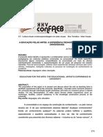 149690_1.a Educação Pelas Artes CONFAEB 2015.Jo a-mi