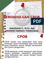 CPOB & Manajemen mutu