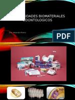 Generalidades de Los Biomateriales Dentales 2017