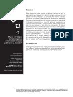 Inteligencia Económica en El Sector Público en El Salvador