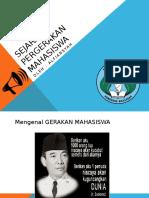 PPT Sejarah Pergerakan Mahasiswa