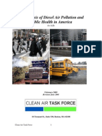 An Analysis of Diesel Air Pollution and Public Health in America