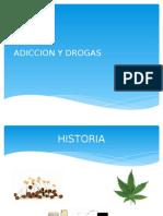 Adicción y Drogas