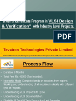 6 Months Electronics VLSI Design Verification