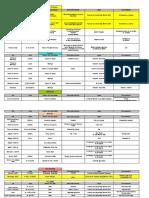 Calendario de Actividades 13-07-10