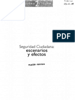31. Violencia, Populismo Mediático. Fernando Carrión M.