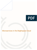 Microservices in the Brightspace Cloud