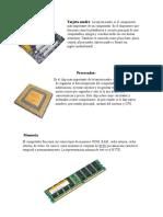 Hardware Interno y Externo