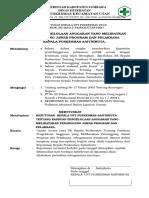 Sk Panduan Pengelolaan Anggaran Yang Melibatkan Penanggung Jawab Program Dan Pelaksana