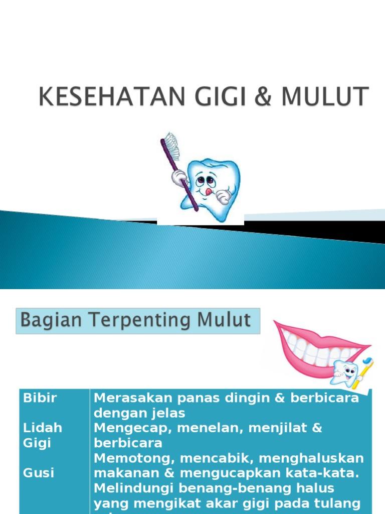 4 Kesehatan Gigi Mulut
