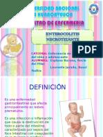 enterocolitis necrotizante EXPOCISION