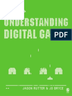 Understanding Digital Games, Jason Rutter and Jo Bryce