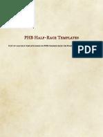 PHB Half-Race Pack (10768966)