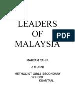 Tokoh Malaysia