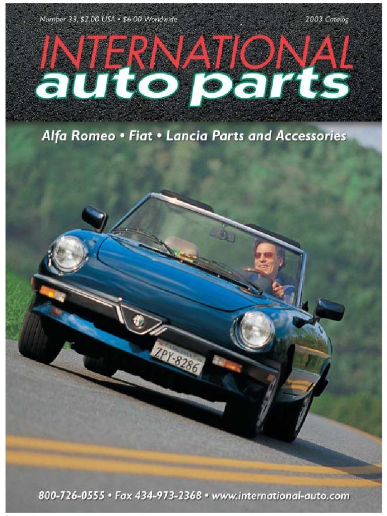 Alfa Romeocatalog Motor Vehicle Land Vehicles Romeo Gt 1300 Junior Restoration Windscreen Wiper
