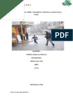 El Fenómeno Del Niño Causando Fuertes Lluvias en El Perú, Hidalgo Maylle Frans