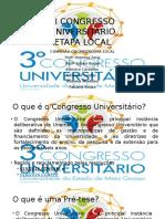 III Congresso Universitário