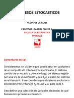 Procesos Estocasticos Presentacion 2017