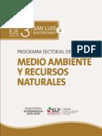 Programa Sectorial Del Medio Ambiente y Recursos Naturales
