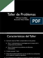 Taller problemas matemáticas