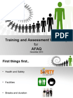 Training and Assessment Presentation1