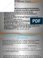 PROCEDIMIENTO DE ANALISIS - MOHR
