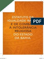 Gerais_04_estatuto Igualdade Racial e Combate a Intolerancia Religiosa