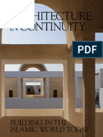 Architecture in Continuity