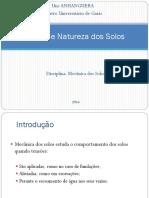 1 -Origem e Natureza Dos Solos