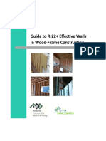 Effective Walls Wood Frame Construction