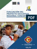 Evaluación del Proyecto Educativo Regional Concertado 2006 - 2015 de la Región Puno
