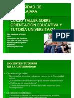 Curso Taller O.E. y T. en la universidad I M+¦dulo Dra. M++ller