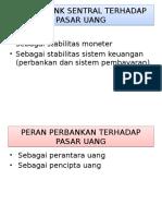 Peran Pasar Uang Dalam Perekonomian Indonesia