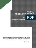 1 Model Model Problem Solving