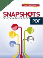 Snapshots of Key Power Markets 2016