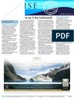 Cruise Weekly for Tue 04 Apr 2017 - U by Uniworld, inside Joie de Vivre, Silver Muse, Princess, Norwegian Jade
