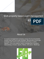 Multi-property Based Event Management