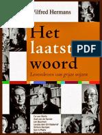 Recensie - Het Laatste Woord - Wilfred Hermans
