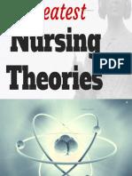 theories applied  in community health nursing