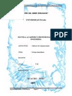 Proyecto de Sistema de Comunicacion via Puertos de La PC