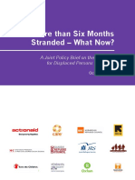 More than Six Months Stranded – What Now? A Joint Policy Brief on the Situation for Displaced Persons in Greece