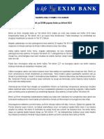 Ebt-swahili Press Release