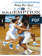 The Daily Tar Heel National Championship 2017