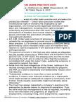 Labor Law Review Assignment Unfair Labor Practice 2017
