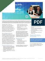 Managing Safely A4 Fact Sheet - EnGLISH