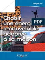 Brigitte Vu-Choisir Une Énergie Renouvelable Adaptée à Sa Maison -Eyrolles (2007)