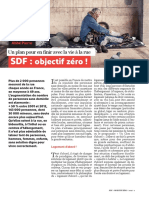 Plan Zéro SDF de la fondation Abbé Pierre