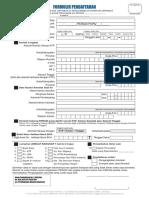 Formulir Pendaftaran Penyumpahan 2017 Update