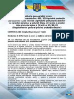 Gdpr 0004 - Drepturile Persoanelor Vizate - Extras Din Regulamentrul 679-2016 - Gdpr