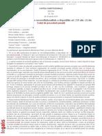 CCR Decizia 336 Din 30 Aprilie 2015